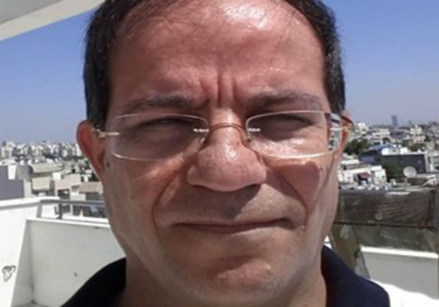 Alleged Iranian spy Ali Mansouri in Tel Aviv