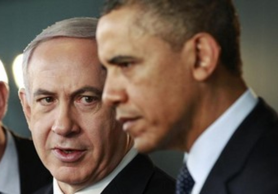 Prime Minister Binyamin Netanyahu and US President Barack Obama.