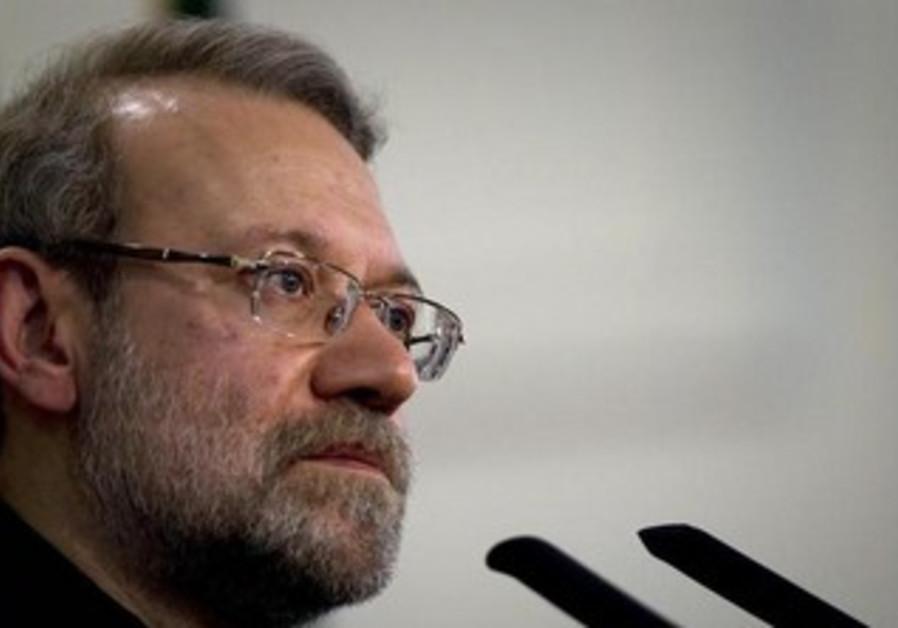 Iran's Parliament speaker Ali Larijani.
