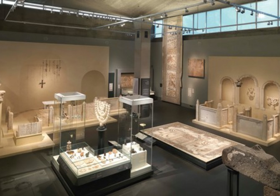 The Holy Land gallery in the Bronfman Archaeology Wing, Israel Museum.