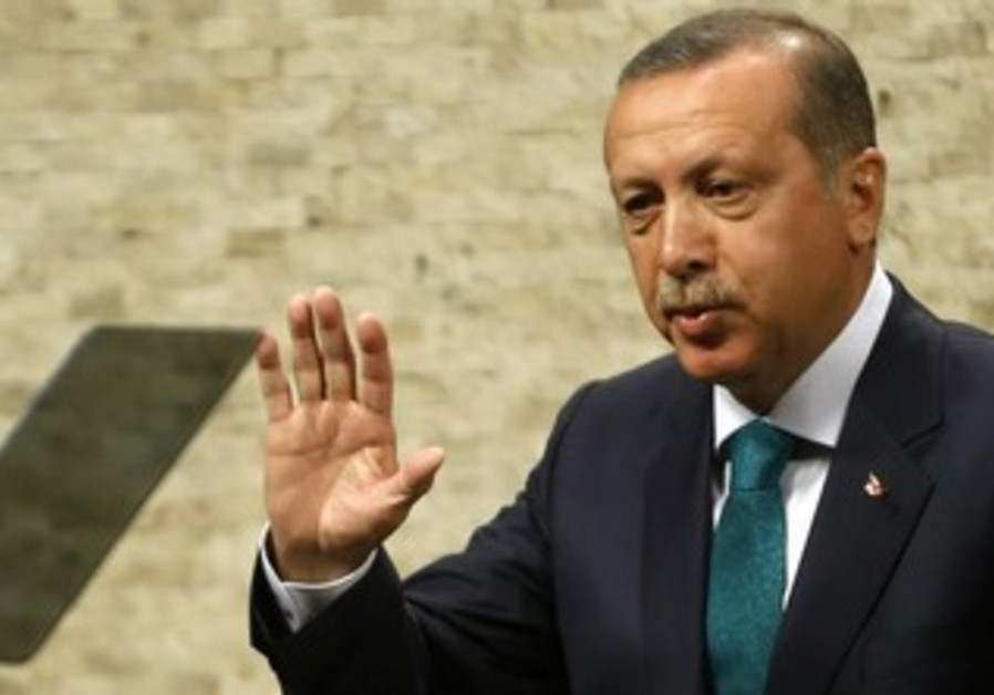 Turkish Prime Minsiter Tayyip Erdogan.