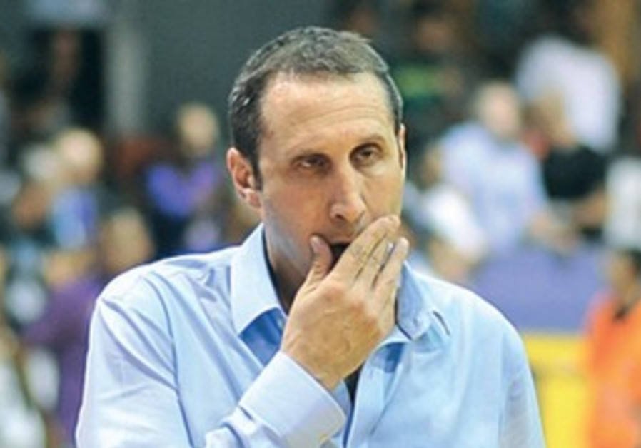 Maccabi Tel Aviv coach David Blatt.