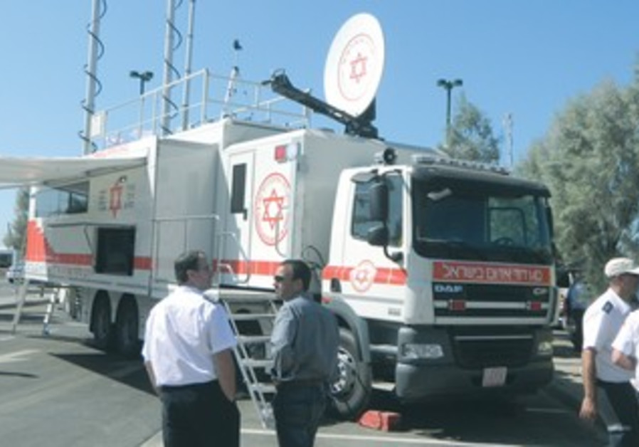 MDA's Mobile Command and Control Vehicle
