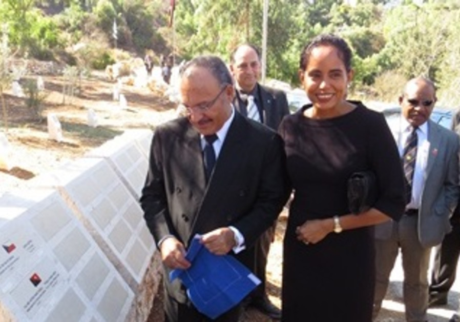 Papua New Guinea PM Plants a Tree in Jerusalem