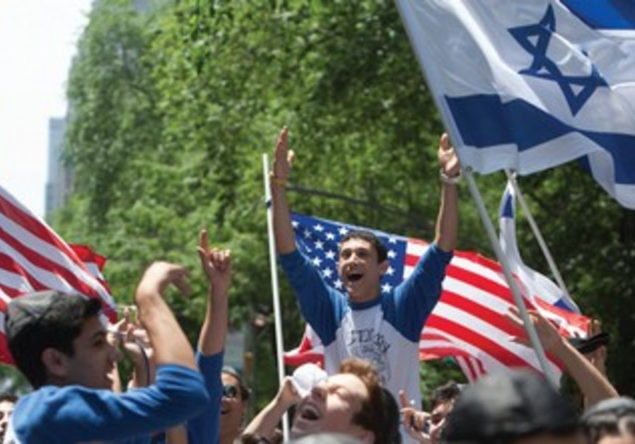 American Jews partcipate in the annual Israel Day Parade in New York.