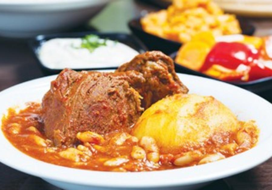 The food at Shoashuka and Geula is both heimish and Libyan