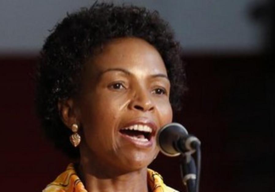 South Africa's Foreign Minister Maite Nkoana-Mashabane