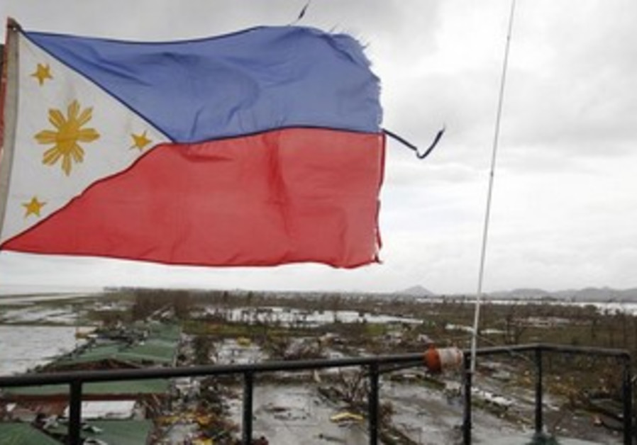 A view of Tacloban City in the Philippines