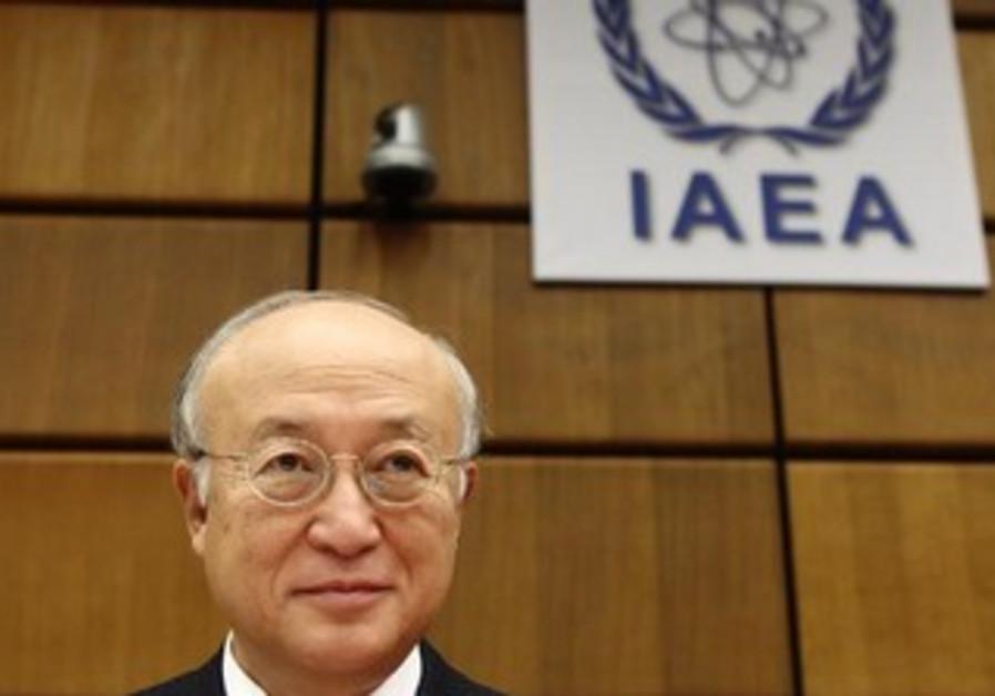 IAEA Director General Yukiya Amano.