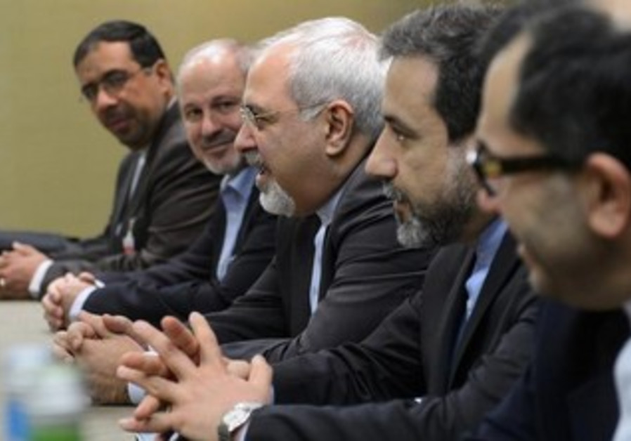 The Iranian nuclear negotiators delegation in Geneva talks, November 22, 2013.