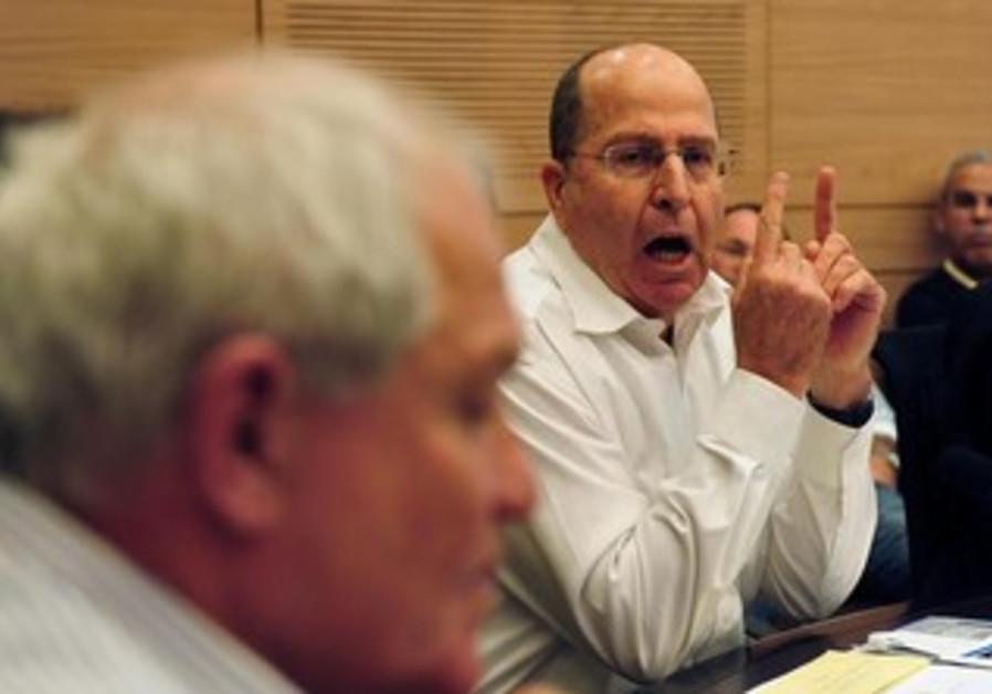 Defense Minister Moshe Ya'alon.
