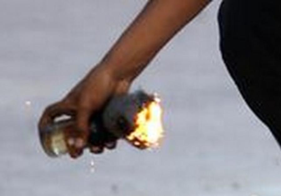 Molotov cocktail [Illustrative]