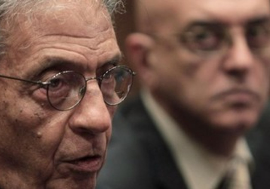 Amr Moussa, chairman of the committee to amend Egypt's constitution.