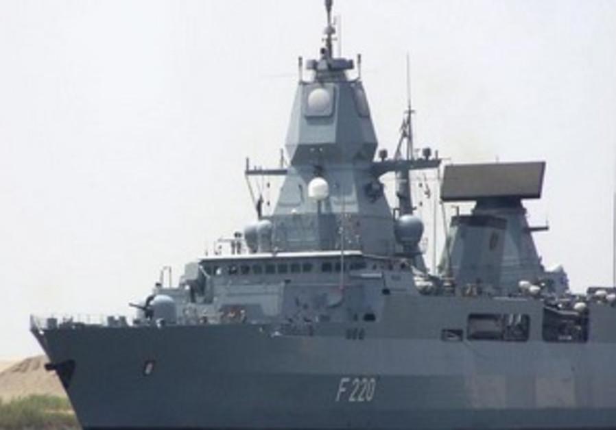 German Navy destroyer (file)