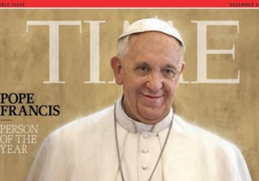 Pope Francis, Time Man of the Year, 2013.