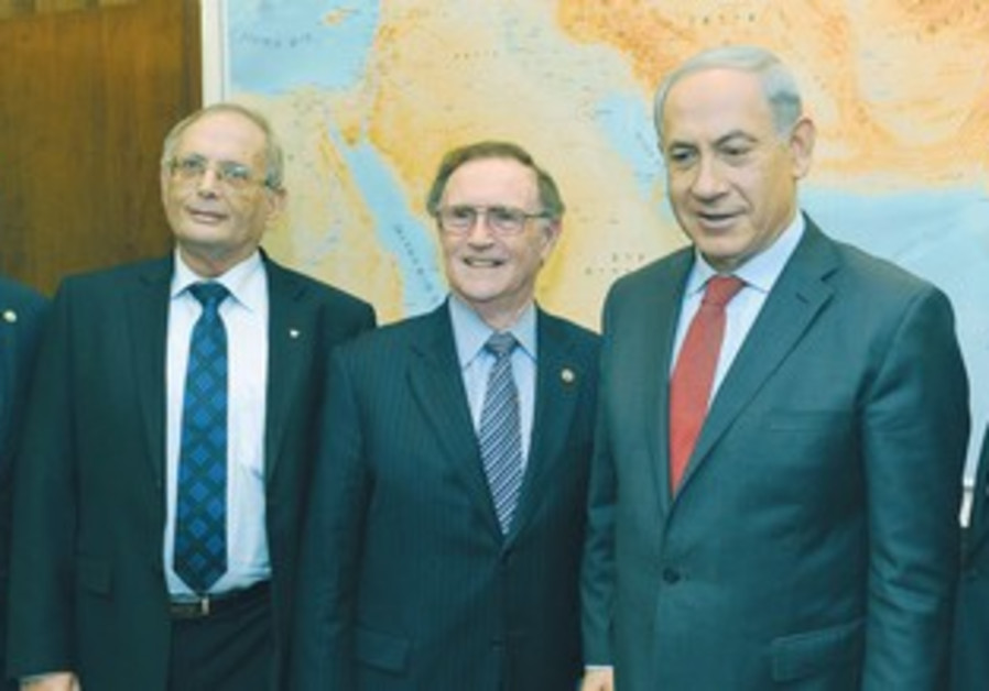B'nai Brit leadership meets with PM Netanyahu