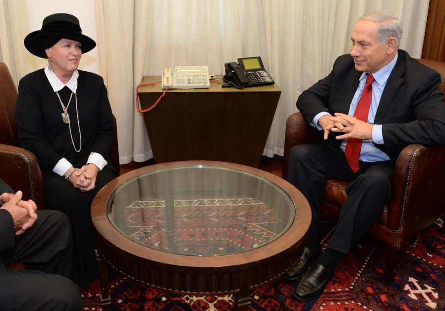 PM Netanyahu meets with Esther Pollard, Dec 23, 2013
