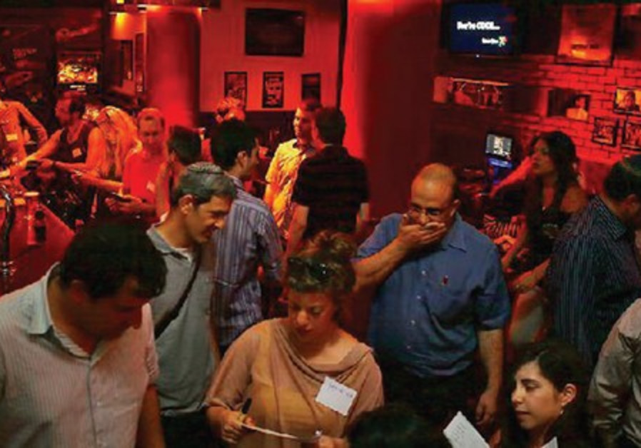 Mike's Place on Jaffa Road is the venue for bimonthly networking events of Beera-Tech.