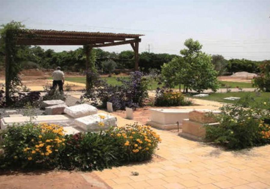 Menucha Nechona cemetery outside Kfar Saba.