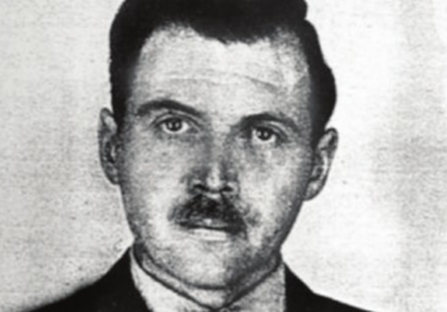A photo of Josef Mengele taken by a police