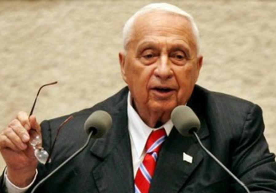 Former prime minister Ariel Sharon [file].