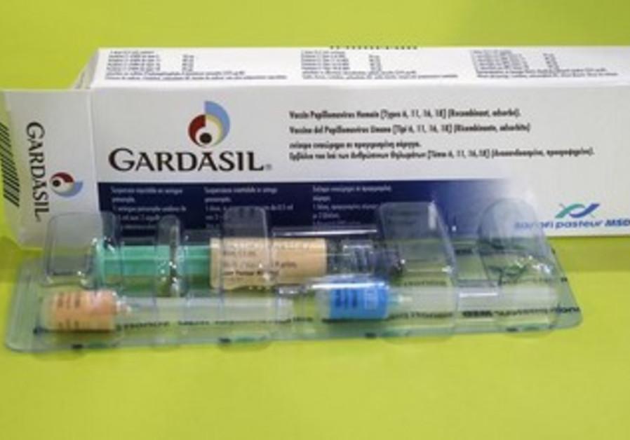 Anti-Cervical Cancer vaccine [illustration]