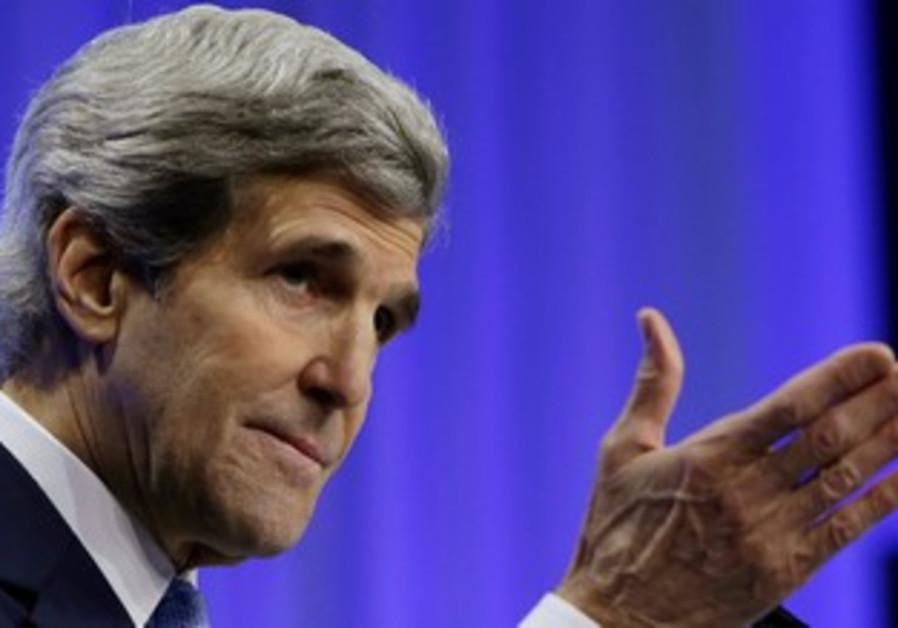 John Kerry in Davos, January 24, 2014