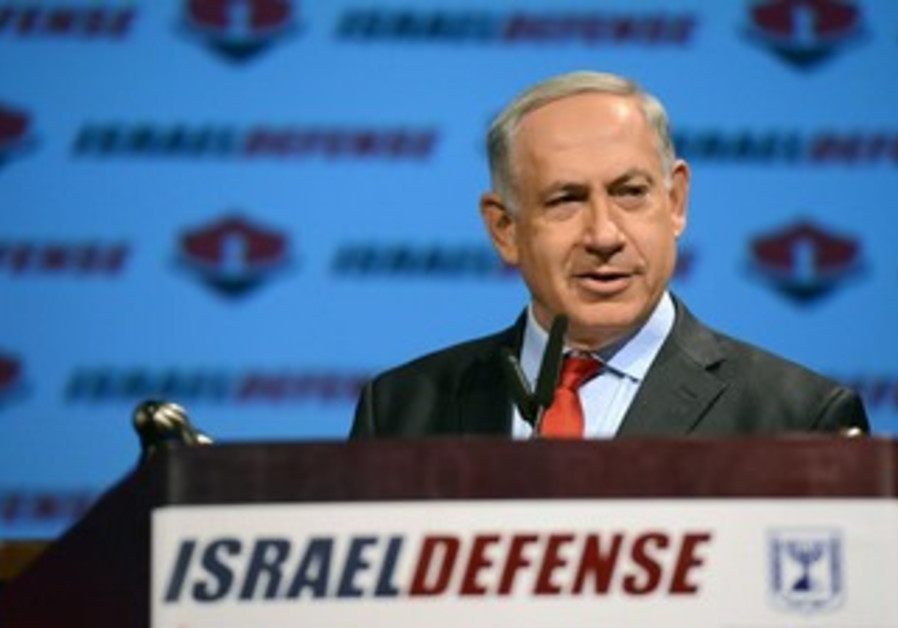 Netanyahu at cyber conference