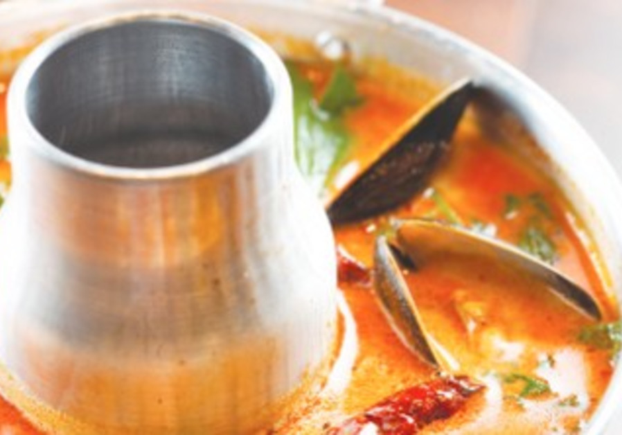 Tom Yum Soup at Tiger Lilly