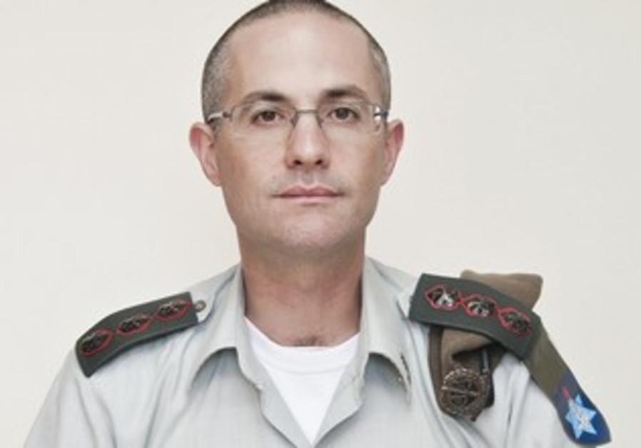 IDF Col. Sharon Afek