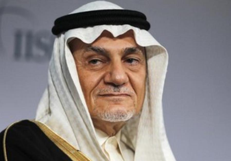 Prince Turki Al Faisal Al Saud is seen here in Bahrain