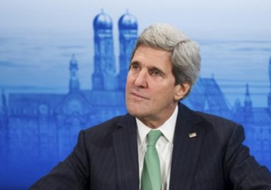US Secretary of State John Kerry at the Munich Security Conference