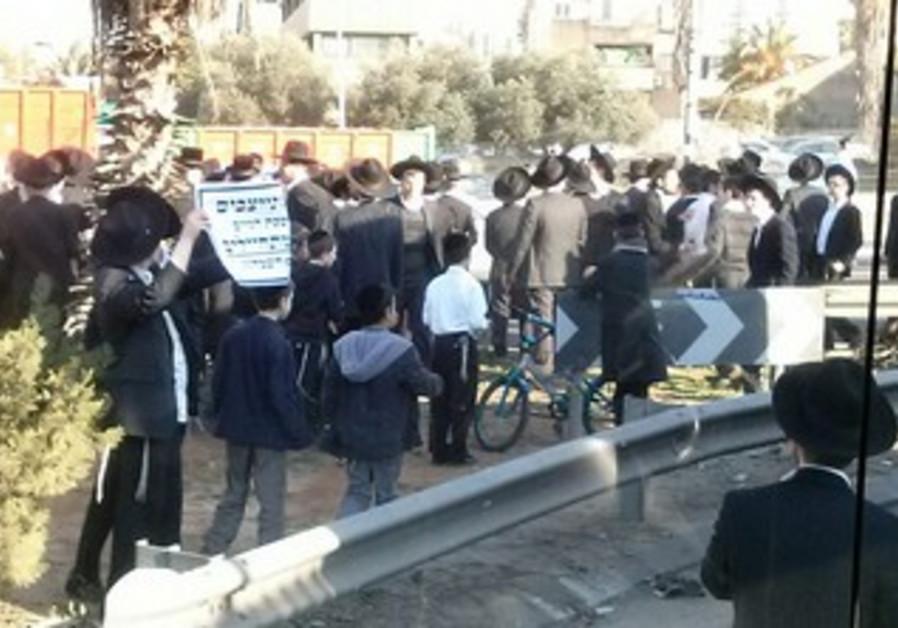 haredi protest