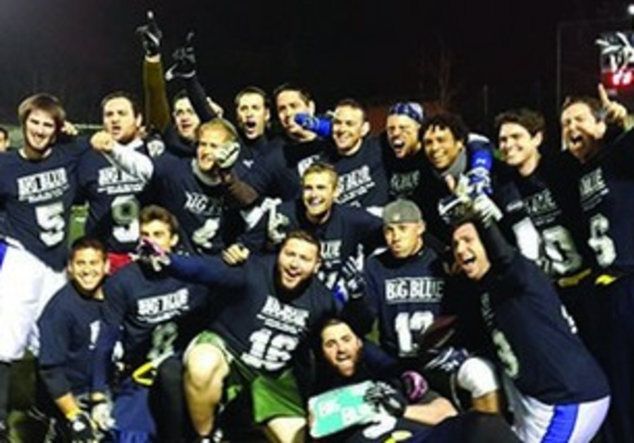 Big Blue championship team