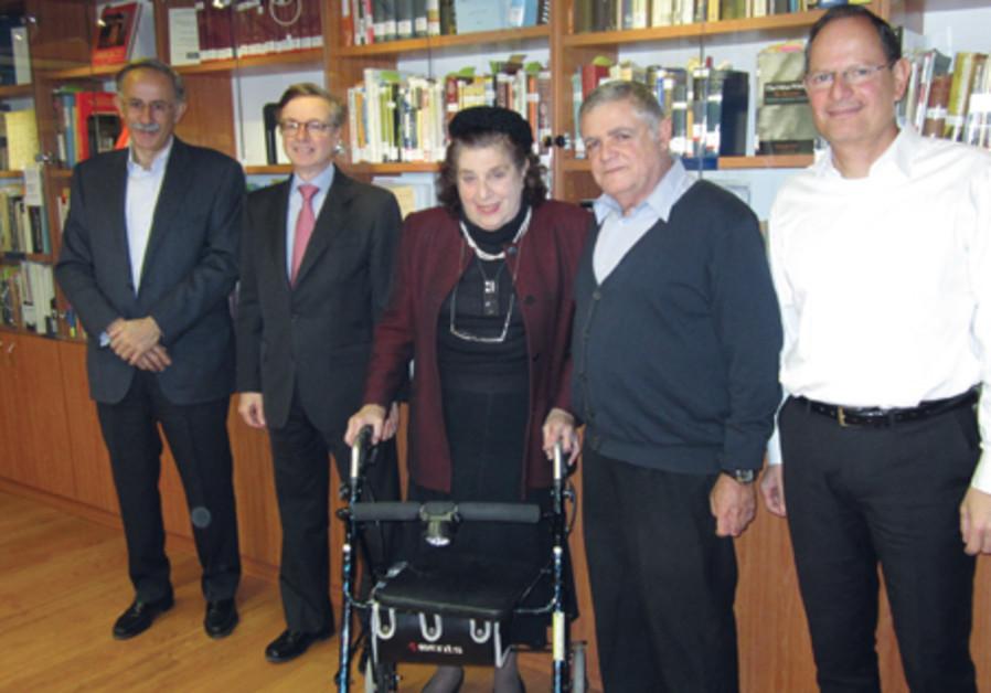 Casa Shalom founder Gloria Mound
