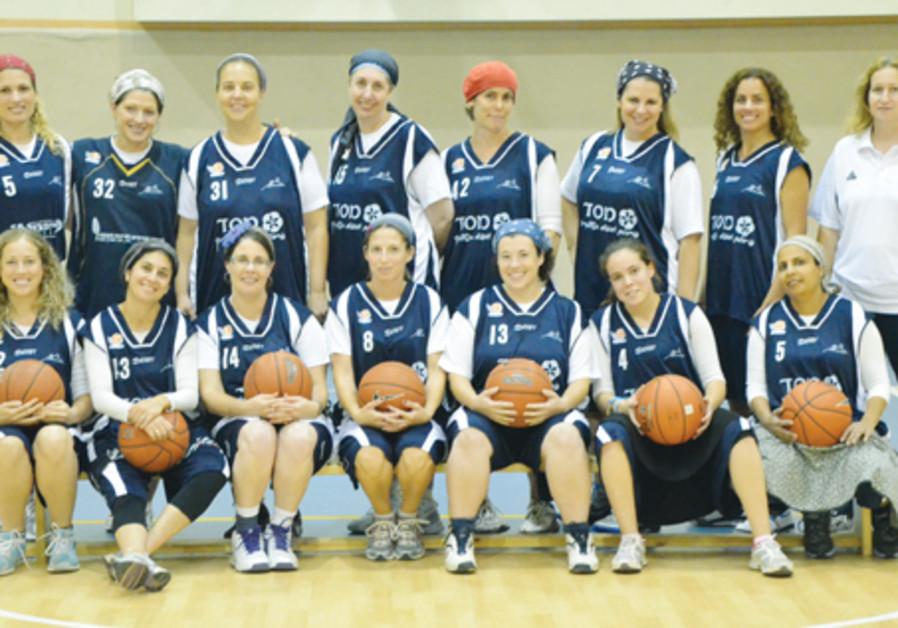 The women's team in Kfar Tapuah