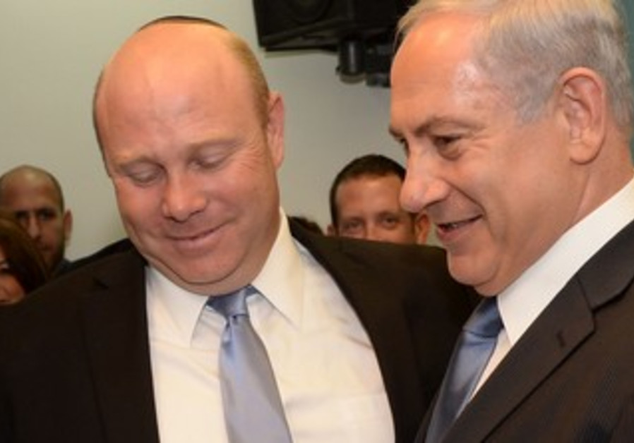 Gil Shefer with Netanyahu