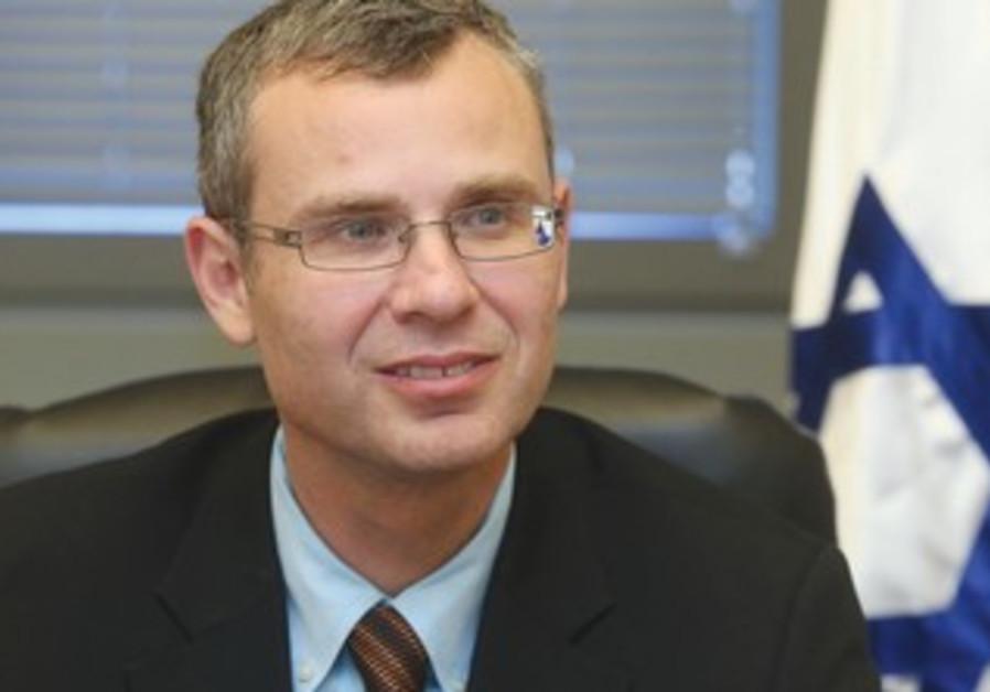 Coalition chairman Yariv Levin.