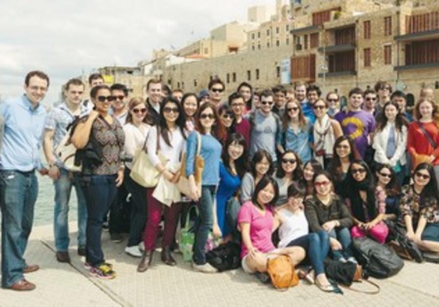 Harvard law students visit Israel