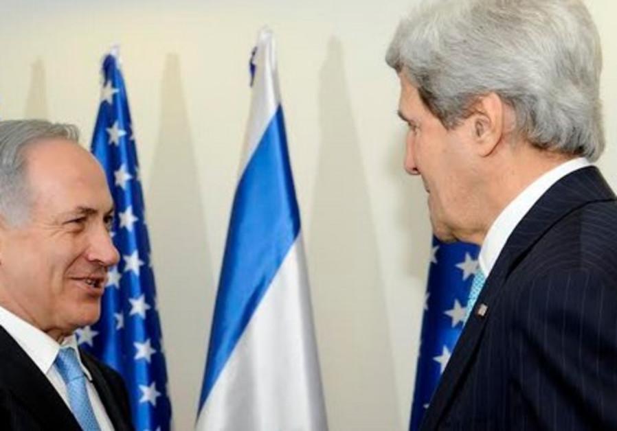 Netanyahu and Kerry