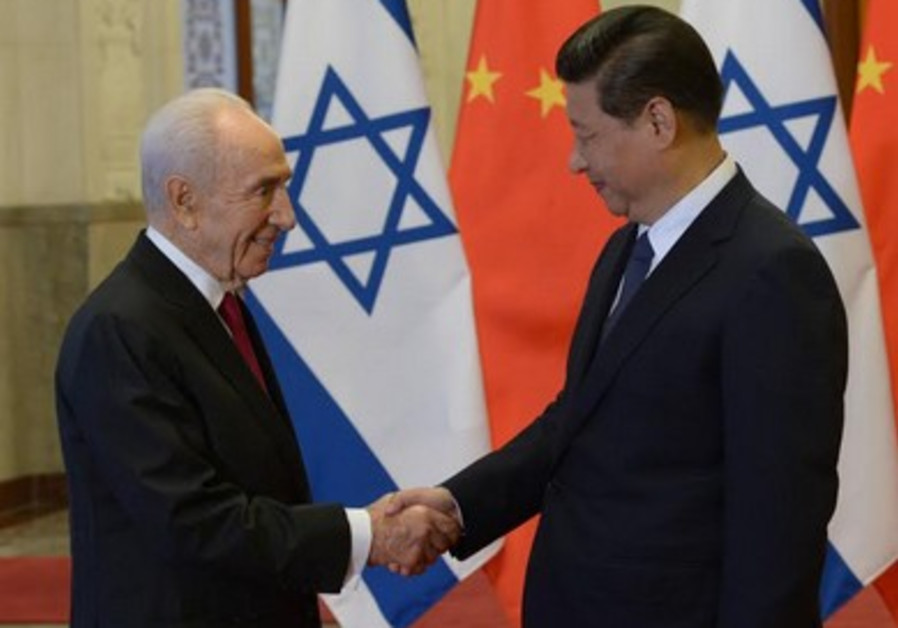 Peres in China