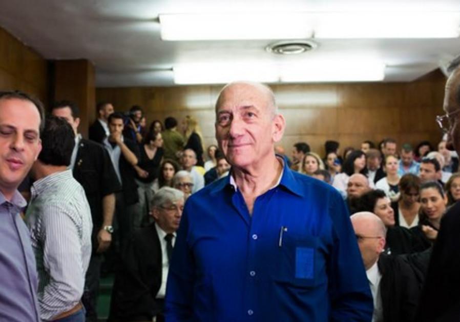 Former Prime Minister Ehud Olmert