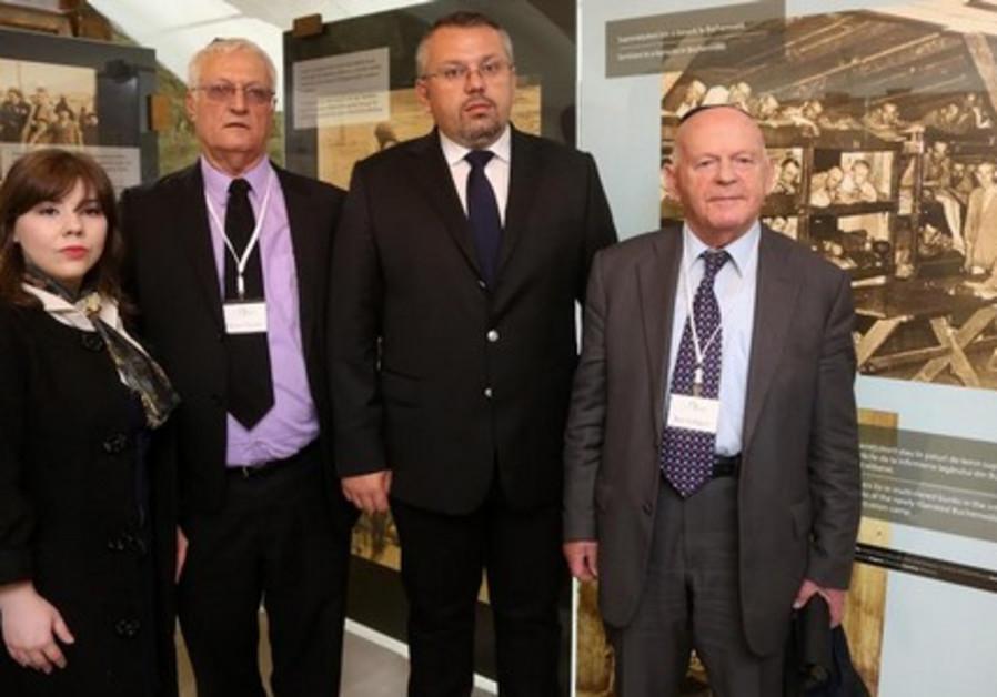 opening of the 'Holocaust Cellar' in the Elie Wiesel memorial museum in Sighet