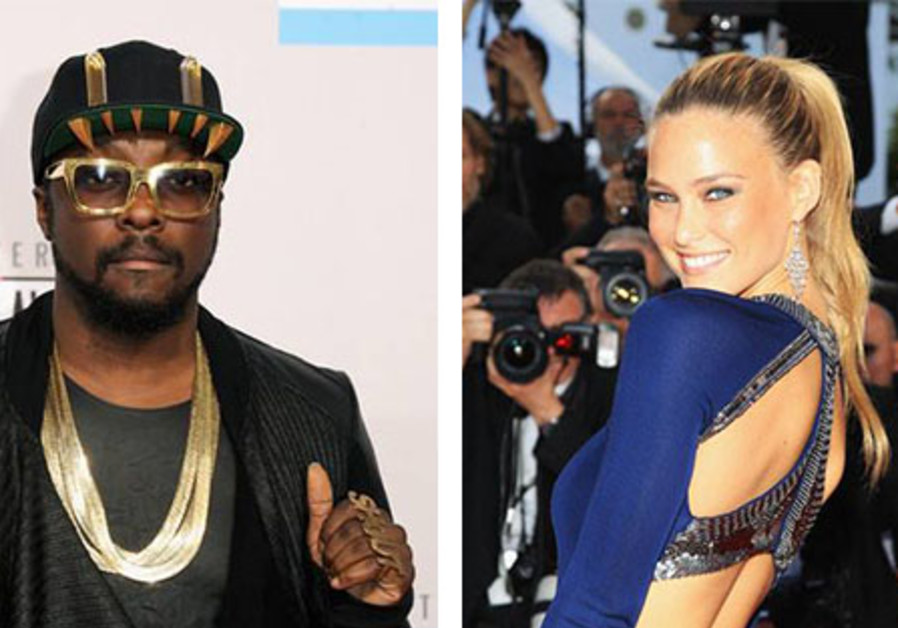 Bar Refaeli Will.I.Am