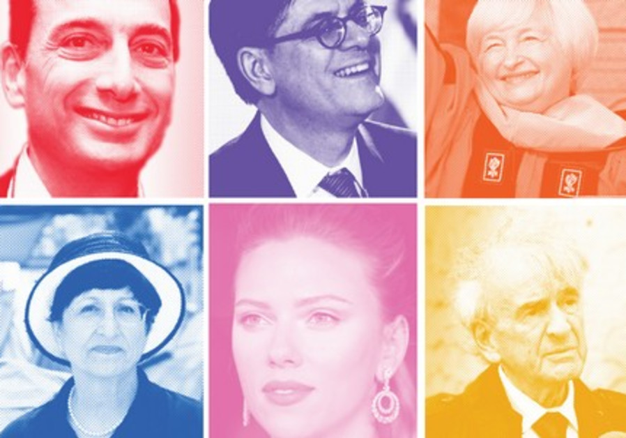 Top 50 most influential Jews