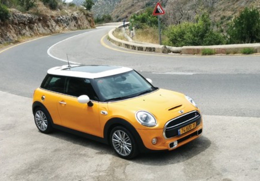The new BMW Mini Cooper S