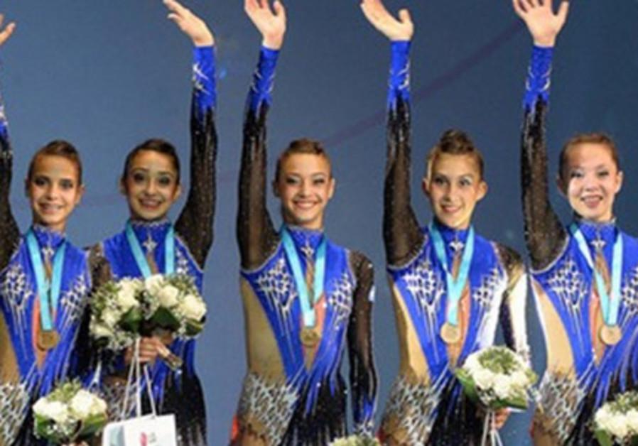 Israel's national rhythmic gymnastics team