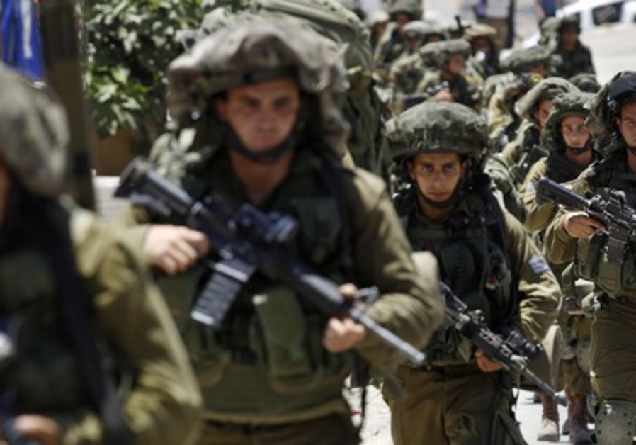 IDF troops in Hebron