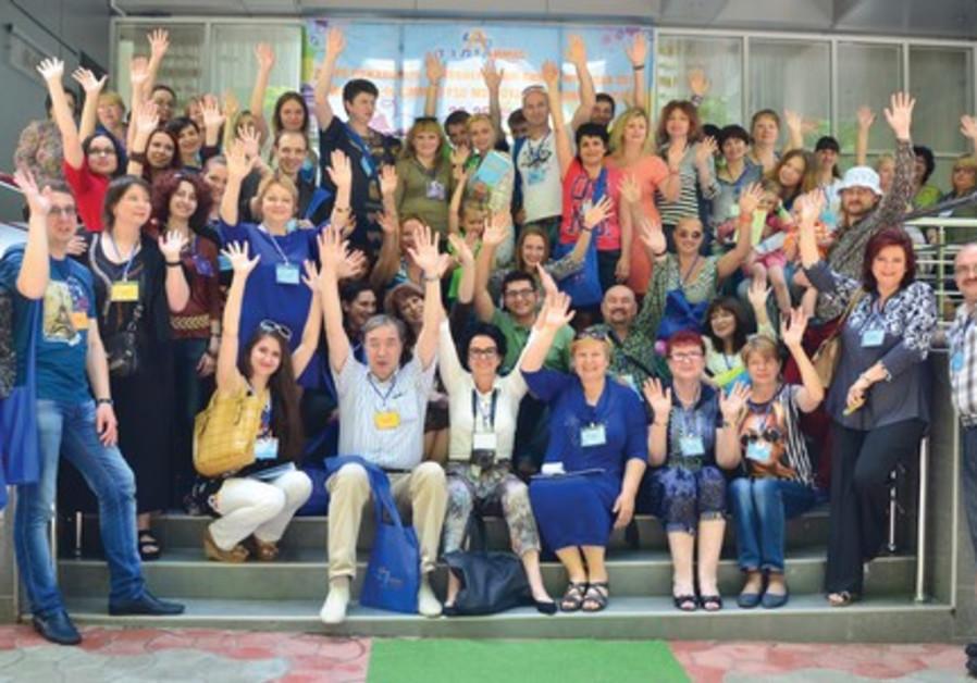 LIMMUD FSU MOLDOVA conference participants