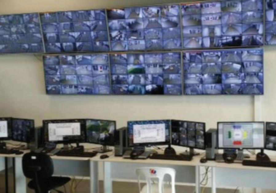 Risco Group security control center, Cuiaba, Brazil.